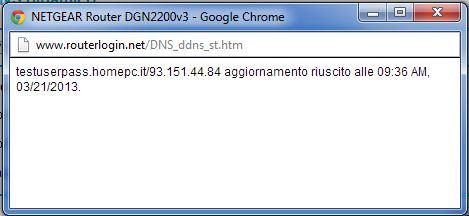 Configurazione dispositivi Netgear